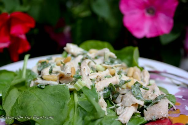 Basil Scented Chicken Salad