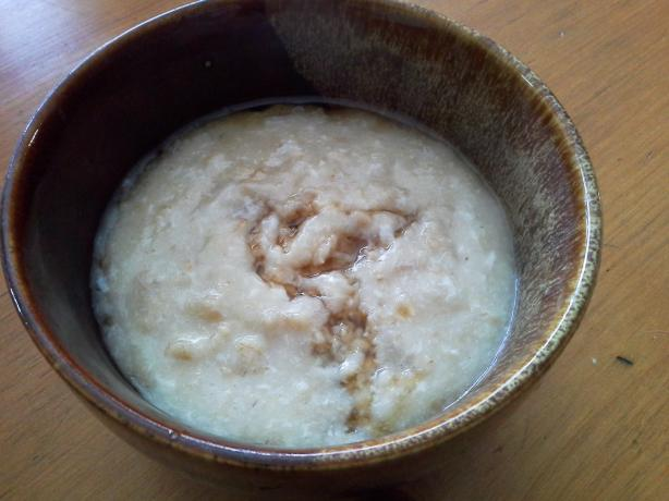 Maple Egg White Oatmeal