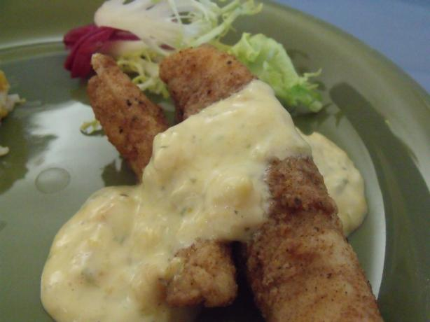 Jamaican Flounder With Mango Lime Sauce