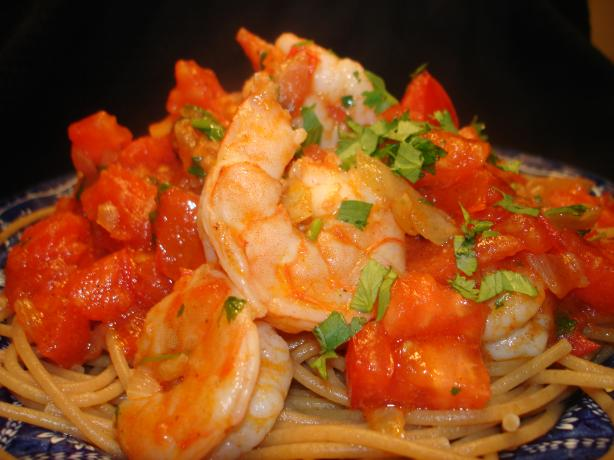 Spicy Tomato Shrimp