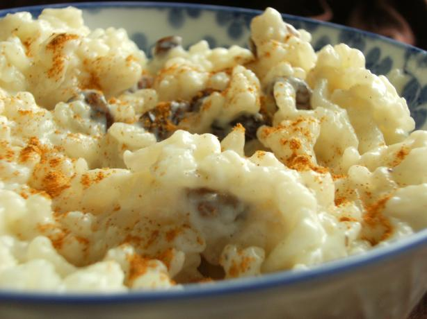 Rice Pudding With Sultanas (Spain)