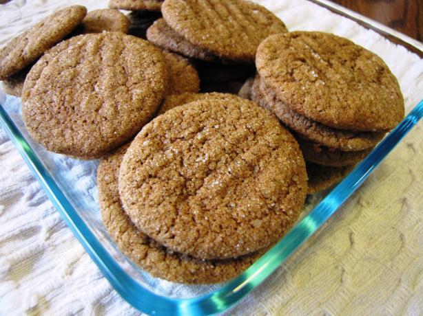 Quick Ginger Cookies