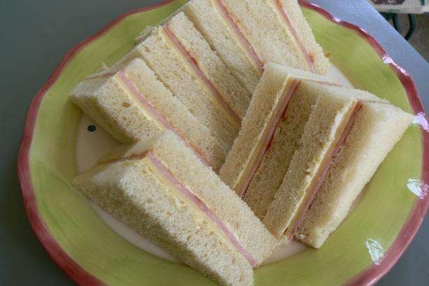 Super Sandwiches for Kid's Parties
