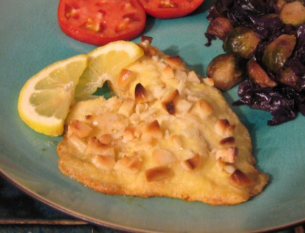 Macadamia Parmesan Sole