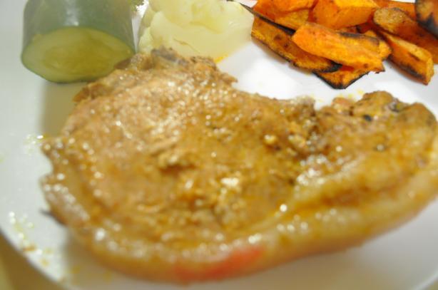 Pork Chops Madrid