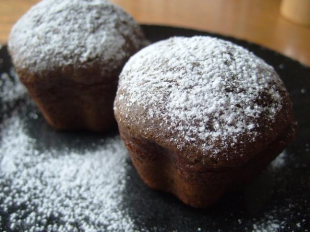 Dense Chocolate Muffins
