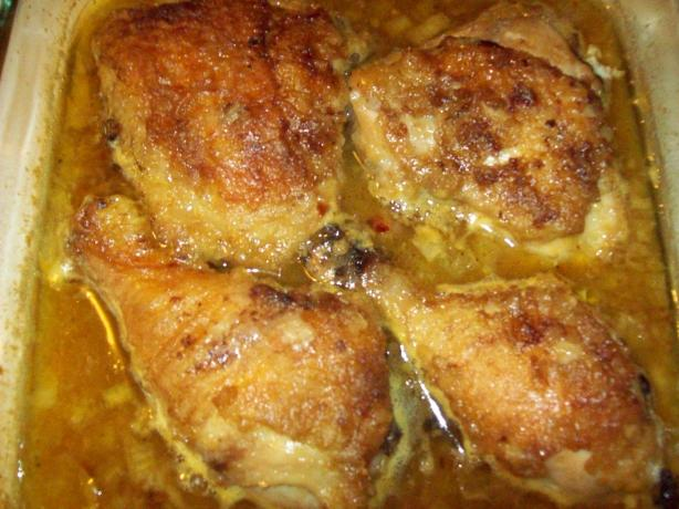 Orange-Honey Glazed Chicken Breasts