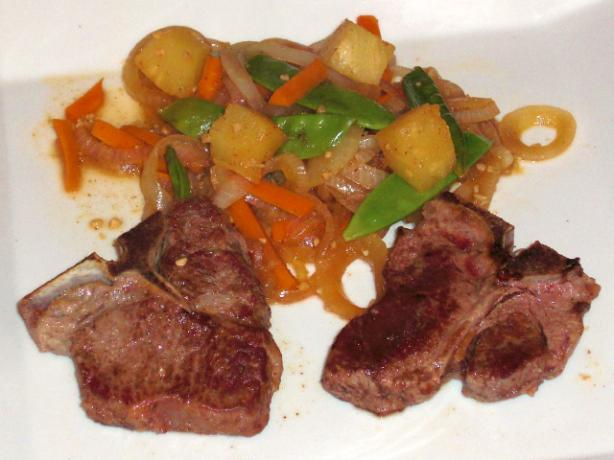 Spicy Chinese New Zealand Lamb