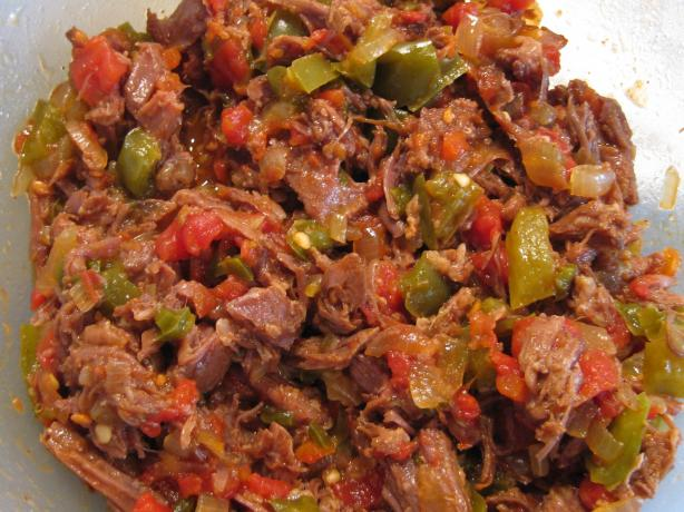 Shredded Beef Fajitas