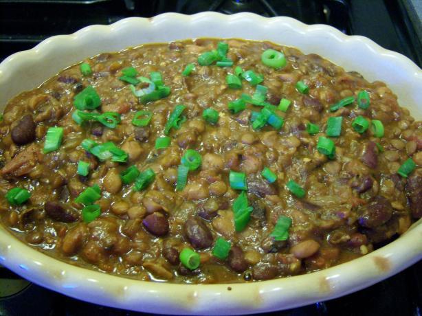 Spicy Beans Tex-Mex (Crock Pot)
