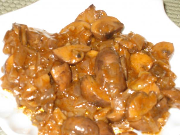 Xampinyons En Salsa - Mushrooms in Sauce