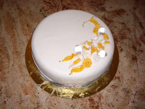 Almond Cake (Wedding Wheat Free and Lactose Free)