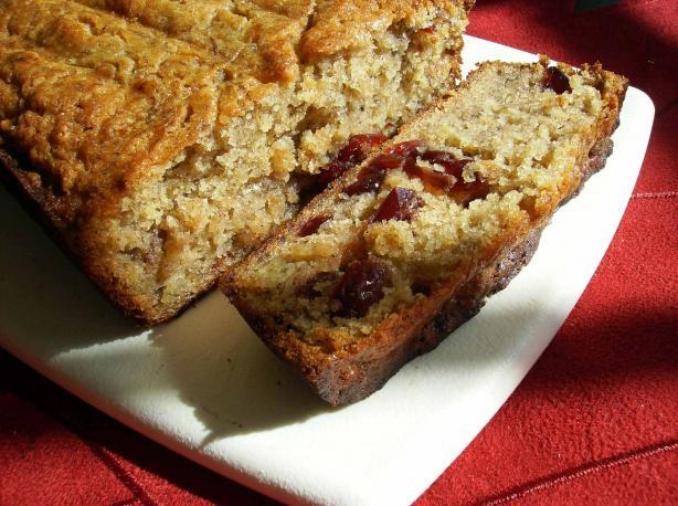 Tink's Caribbean Cran-Ana Bread
