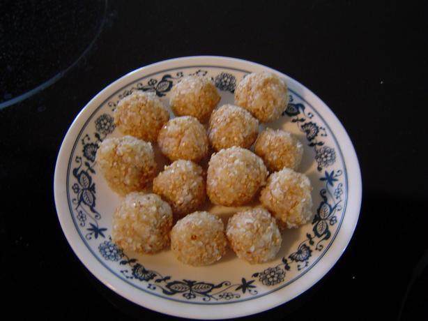 Pineapple Pop 'em Balls