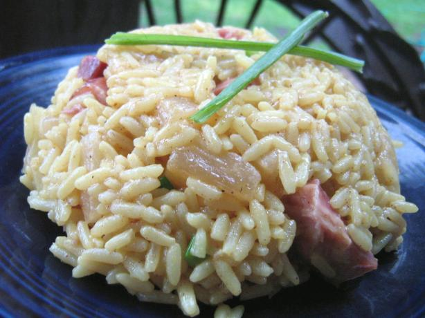 Nif's Pineapple Rice