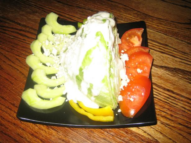 The Blue Wedge Salad