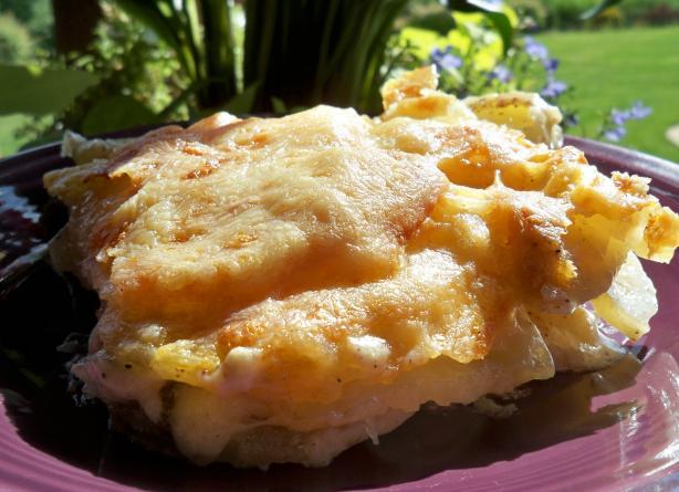 Dauphine Oven Baked Potatoes