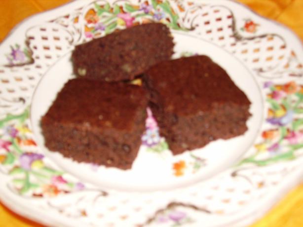 Flax Seed Brownies