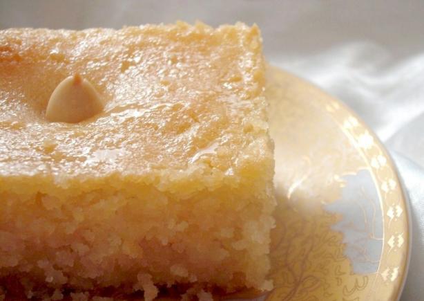 Algerian Basboussa - Semolina Cake With Syrup
