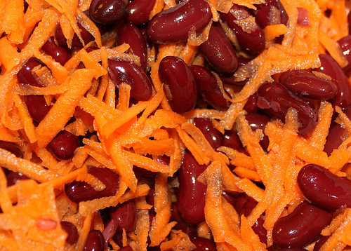 Carrot Salad With Toasted Almonds
