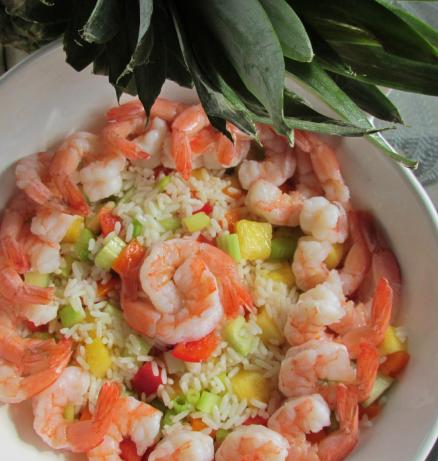 Caribbean Shrimp Salad