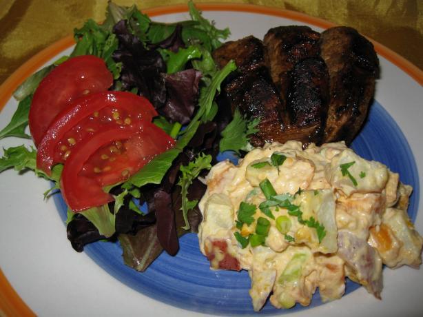 Sunny Sweet Potato Salad