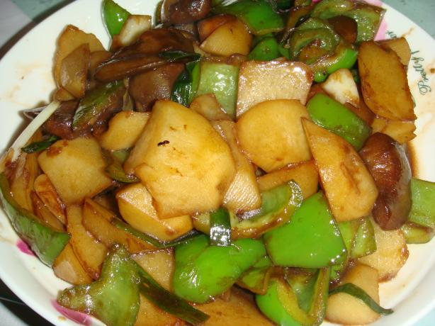 Treasures of the Earth (Chinese Stir Fry)