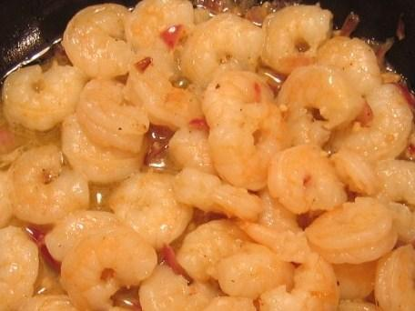 Shrimp and Onions