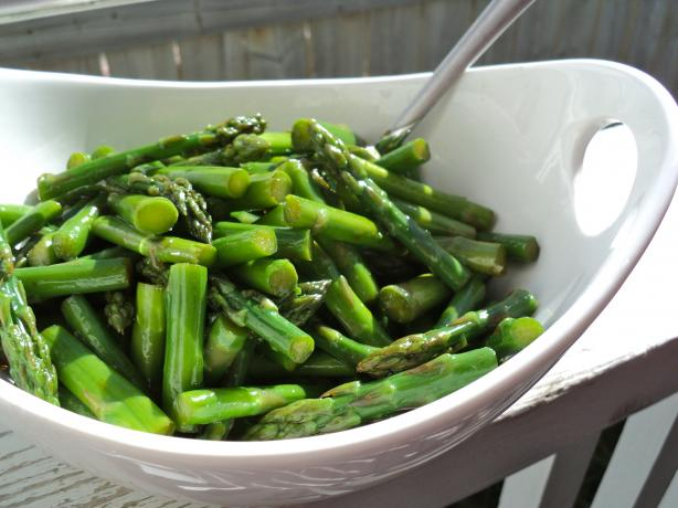 East-West Asparagus Salad