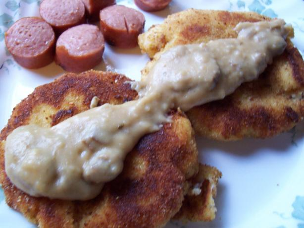 Potato Patties Kiev-Style (Russian or Ukrainian)