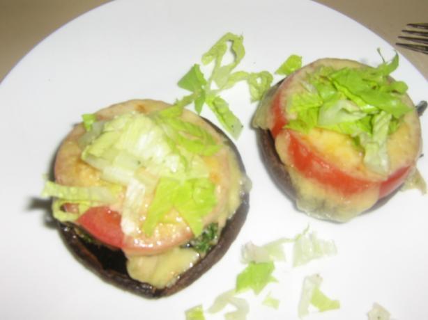 Portobello Mushroom Tuna Melt