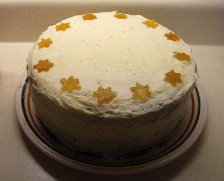 3-Ginger Gingerbread Cake