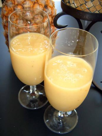Pineapple-Banana Protein Blaster