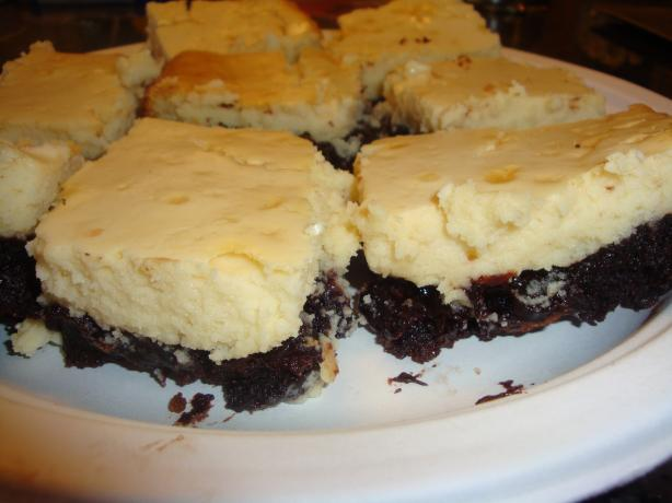 The Best Cheese Cake Brownies