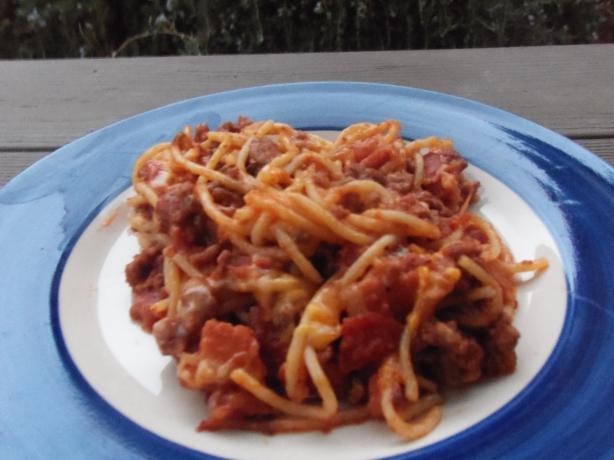 Smokehouse Spaghetti