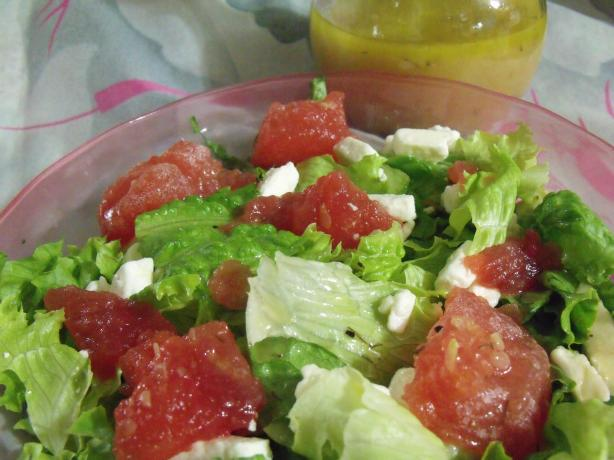 Watermeon and Feta Salad