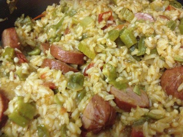 Tressa's Spicy Jambalaya
