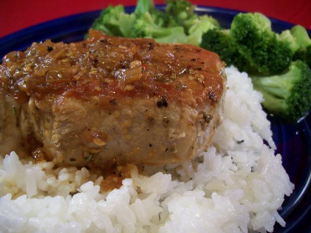 Orange Rosemary Pork Chop