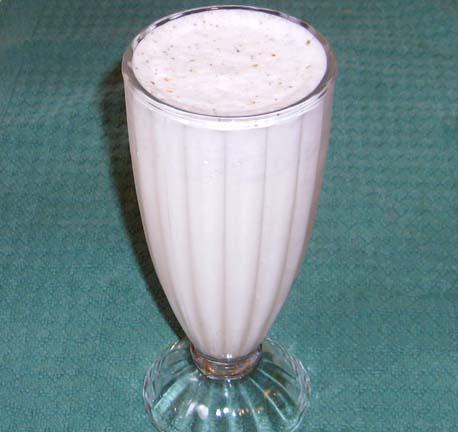 A Delectable Cinnamon Milkshake