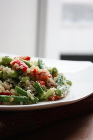 Three-Bean Salad With Quinoa