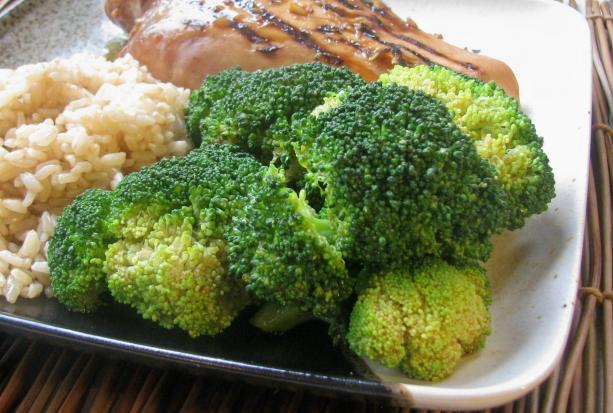 Broccoli With Wasabi Sauce