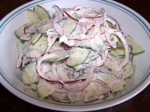 East European Cucumber Salad