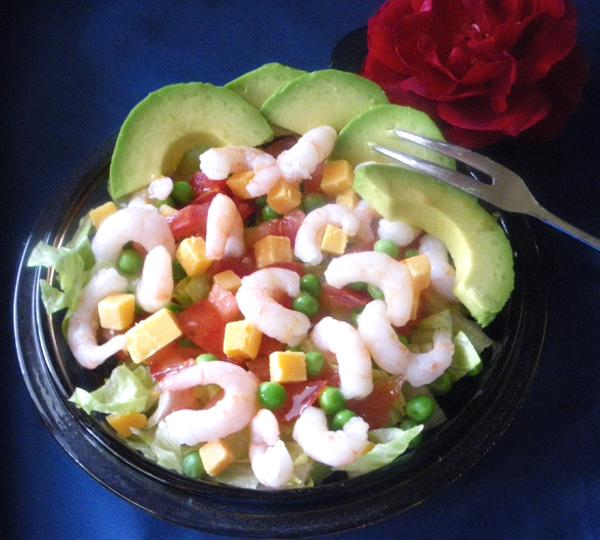 Shrimp Starter Salad