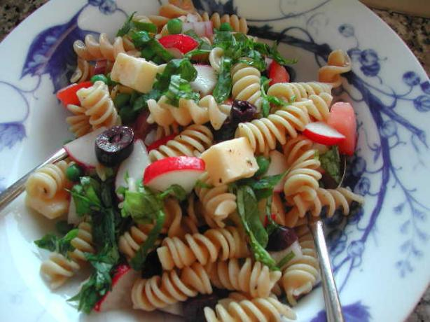 Pasta Salad With Honey Dijon Vinaigrette