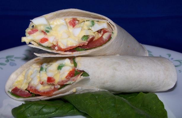 It's a Wrap! Egg Salad