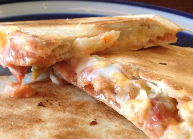 Creamy Ranch & Pineapple Quesadillas