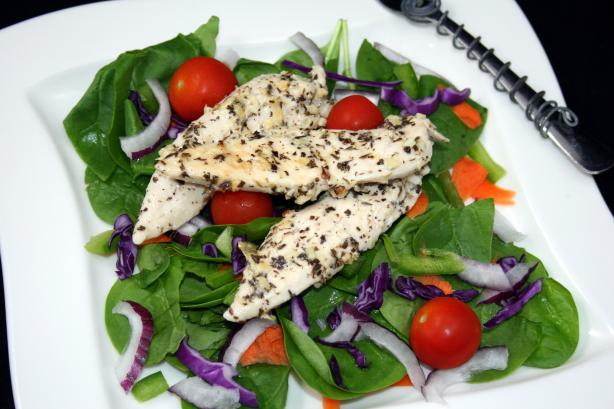 Marinated Herbed Grilled Chicken