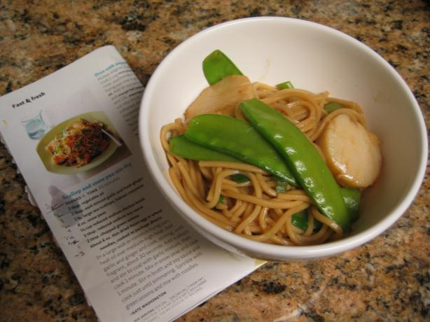 Scallop and Snow Pea Stir-Fry