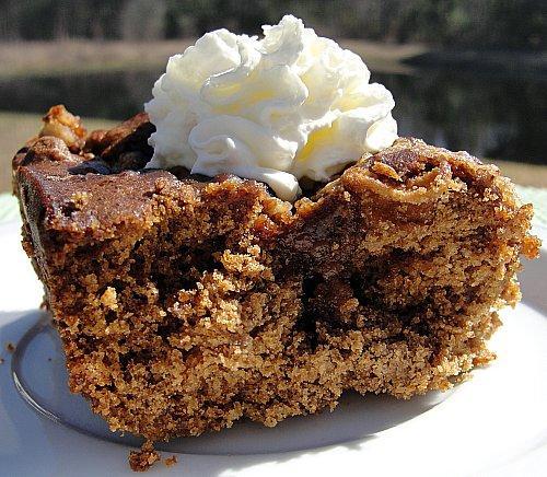 Ginger Apple Dessert