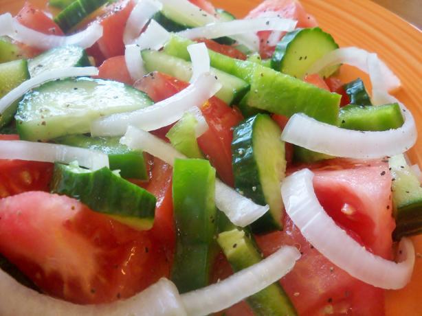 Standard Croatian Mixed Salad
